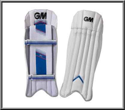 GM Gunn and Moore 303 Junior Wicket Keeping Pads 2015