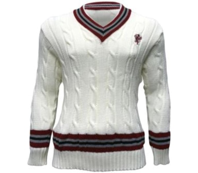Somerset County Cricket C Somerset CCC Cable Knit Sweater