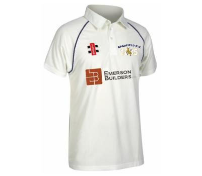 Bradfield Cricket Club Bradfield Cricket Club Short Sleeve Playing Shirt