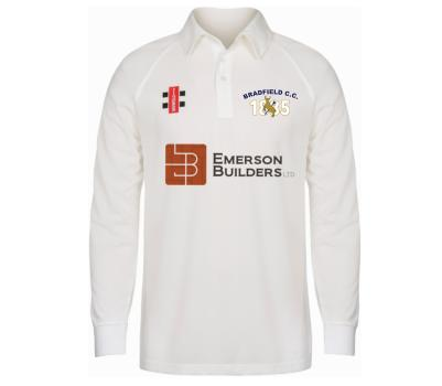 Bradfield Cricket Club Bradfield Cricket Club Long Sleeve Playing Shirt