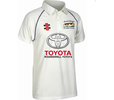 North Devon CC North Devon Cricket Club Short Sleeve Playing Shirt