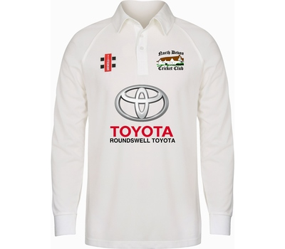 North Devon CC North Devon Cricket Club Long Sleeve Playing Shirt