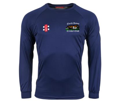North Devon CC North Devon Cricket Club Long Sleeve Training Shirt