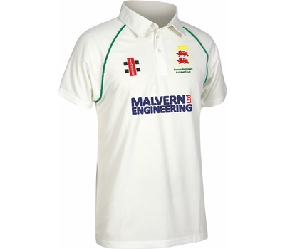 Barnards Green CC Barnards Green Cricket Club Short Sleeve Playing Shirt