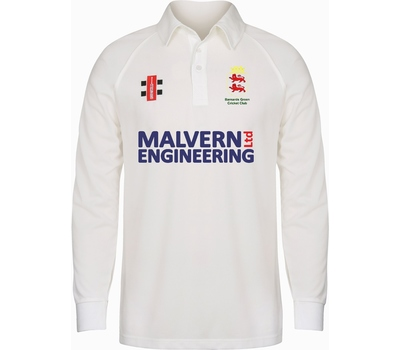Barnards Green CC Barnards Green Cricket Club Long Sleeve Playing Shirt