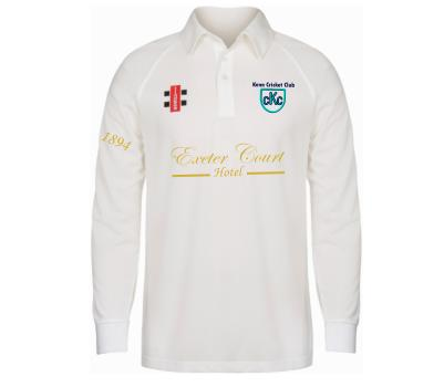 Kenn Cricket Club Kenn Cricket Club Long Sleeve Playing Shirt