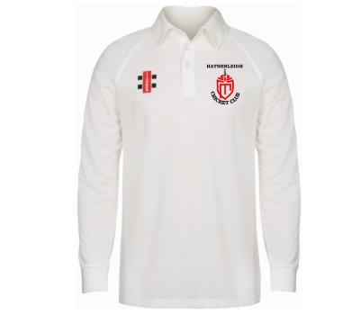 Hatherleigh CC Hatherleigh Cricket Club Long Sleeve Playing Shirt