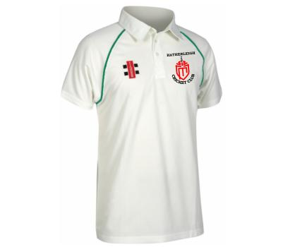 Hatherleigh CC Hatherleigh Cricket Club Short Sleeve Playing Shirt