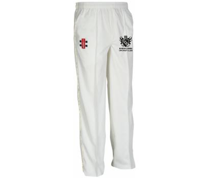 Babbacombe CC Babbacombe Cricket Club Playing Trousers