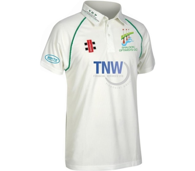 Shaldon Optimists CC Shaldon Optimists Cricket Club Playing Shirt