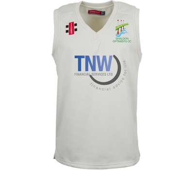 Shaldon Optimists CC Shaldon Optimists Cricket Club Sleeveless Fleece Jumper