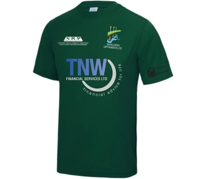 Shaldon Optimists CC Shaldon Optimists Cricket Club Training Shirt - Green