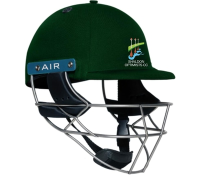 Shaldon Optimists CC Shaldon Optimists Cricket Club Shrey Masterclass Helmet
