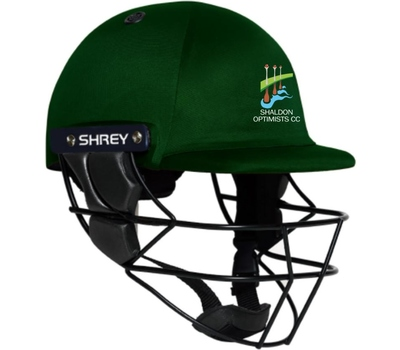 Shaldon Optimists CC Shaldon Optimists Cricket Club Shrey Armor Helmet