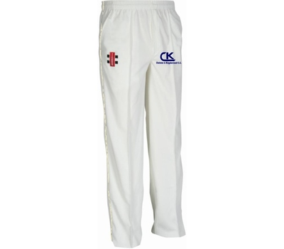 Chelston & Kingskerswell CC Chelston & Kingskerswell Cricket Club Playing Trousers