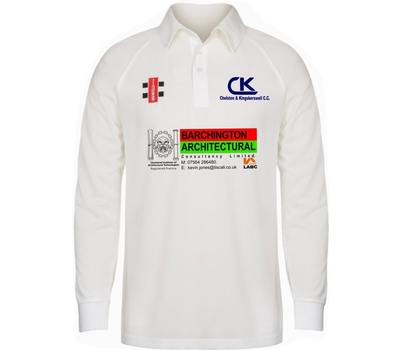 Chelston & Kingskerswell CC Chelston & Kingskerswell Cricket Club Long Sleeve Playing Shirt