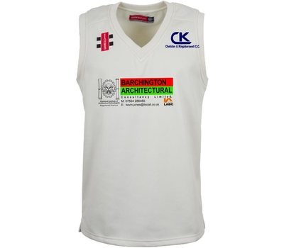 Chelston & Kingskerswell CC Chelston & Kingskerswell Cricket Club Sleeveless Fleece Jumper