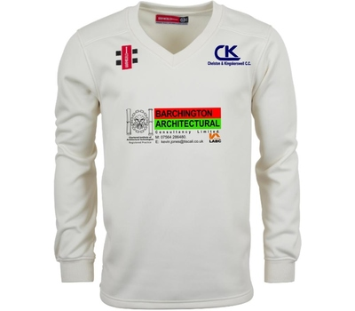 Chelston & Kingskerswell CC Chelston & Kingskerswell Cricket Club L/S Fleece Jumper