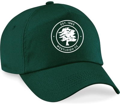 Westleigh CC Clothing Playing Cap Green