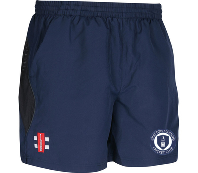Gray Nicolls Bratton Fleming CC GN Training Shorts Navy
