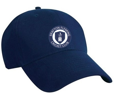 Bratton Fleming CC Playing Cap  Navy