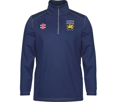 Yelverton Bohemians CC GN Thermo Fleece Navy
