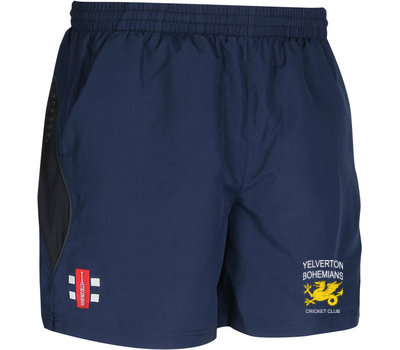 Yelverton Bohemians CC GN Training Shorts Navy