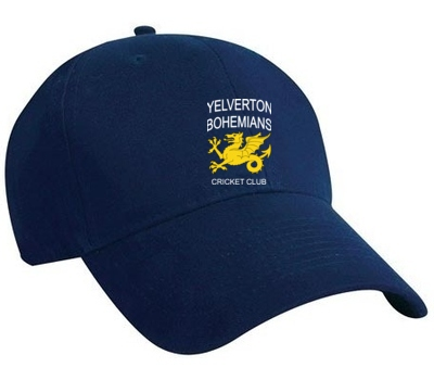 Yelverton Bohemians CC Playing Cap  Navy