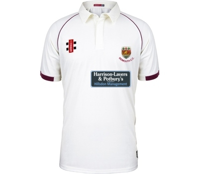 Sidmouth CC GN Short Sleeve Playing Shirt