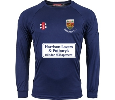 Sidmouth CC GN Long Sleeve Training Shirt
