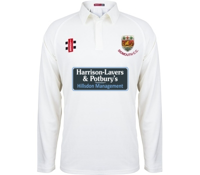 Sidmouth CC GN Long Sleeve Playing Shirt