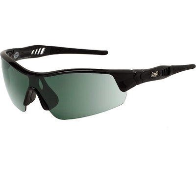 Dirty Dog Dirty Dog Sport Edge Sunglasses Black Green