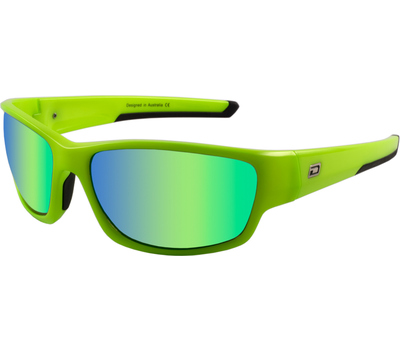 Dirty Dog Dirty Dog Sport Chain Sunglasses Fluro Green