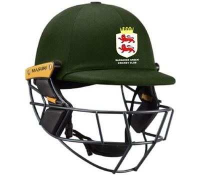 Barnards Green CC Barnards Green CC Masuri Original Series 2 Helmet Steel Grill