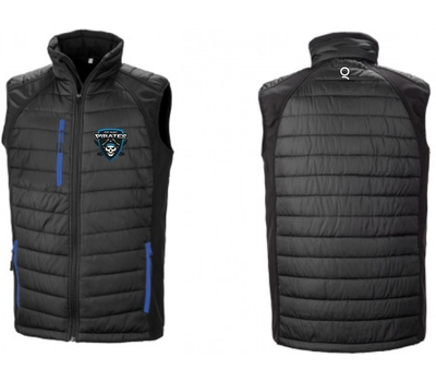 Port Talbot Cricket Club Port Talbot Pirates Padded Gilet