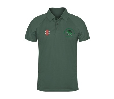 Devon Dumplings Cricket Club GN Polo Shirt Green