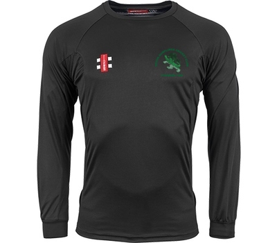 Devon Dumplings Cricket Club GN Long Sleeve Training Shirt Black