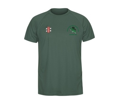 Devon Dumplings Cricket Club GN Training Shirt Green
