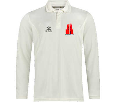 Paignton CC Clothing Shrey  Long Sleeve Performance Playing Shirt