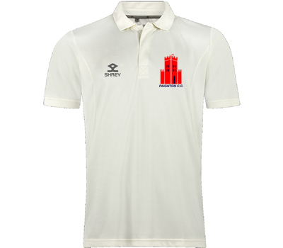Paignton CC Clothing Shrey Short Sleeve Performance Playing Shirt