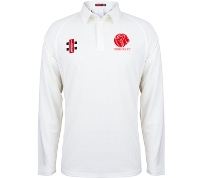 Sidbury CC GN Long Sleeve Playing Shirt