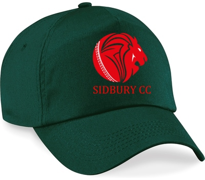 Sidbury CC Playing Cap Green