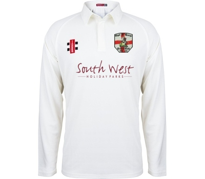 Clyst St George CC  GN Long Sleeve Playing Shirt