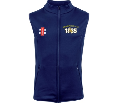Bradfield Cricket Club Bradfield Cricket Club Thermo Fleece Gilet