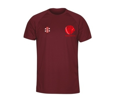 Sidbury CC GN Training Shirt Maroon