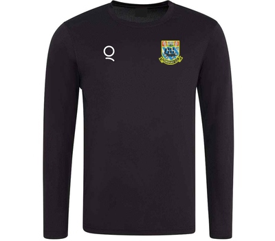 Torquay CC Black Long Sleeve Training Shirt