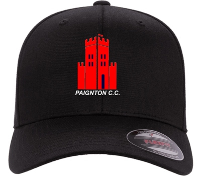 Paignton CC Clothing Black Flexfit Cap