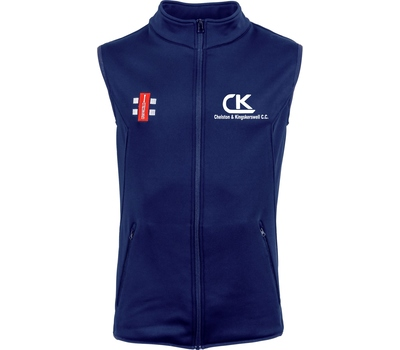 Chelston & Kingskerswell CC Chelston & Kingskerswell Cricket Club Thermo Gilet