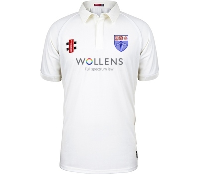 South Devon CC GN Short Sleeve Playing Shirt Ivory Trim
