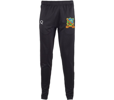 Qdos Cricket Ynysygerwn CC Slim Leg Trousers Black